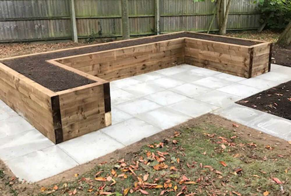 Improvements to residents' garden